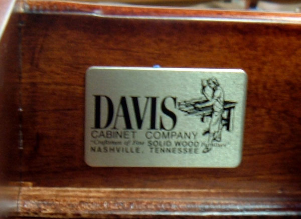 ... That The Product Was Made By Davis. Although Most Did Not Put A Fake  Label In Their Product, Some Of The Furniture Copies Look Good At First  Glance.