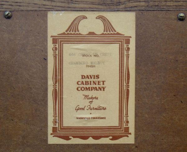 Davis Cabinet Company FAQ